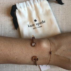 Kate Spade Gold-toned Spade Bracelet